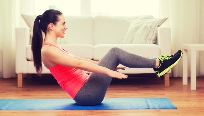 Lose Stomach Fat In Your 50s With Flat Stomach Exercise